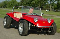 Bruce Meyers, driving a Meyers Manx Kick Out, in 2009. Photo by David LaChance. - See more at: http://blog.hemmings.com/index.php/2015/03/20/bruce-meyers-the-father-of-the-modern-dune-buggy-to-appear-at-carlisle-import-kit-nationals/#sthash.UeIN69Tb.dpuf