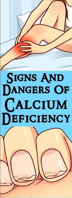 Signs & Dangers Of Calcium Deficiency