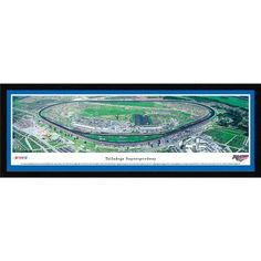 Talladega Superspeedway - Blakeway Panoramas Nascar Print with Select Frame and Single Mat