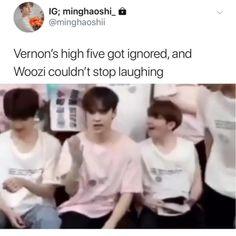 Vernon Seventeen, Joshua Seventeen, Seventeen Scoups, Seventeen Memes, Seventeen Woozi, One Direction Videos, One Direction Quotes, One Direction Imagines, 1d Imagines