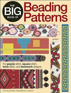 Over 100 bead weaving patterns are included in this book.
