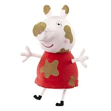 Peppa Pig - Peluche Peppa Pig Manchas de Barro