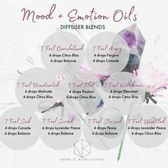 Mood & Emotion essential oil diffuser blends for overwhelm, anger, motivation, sadness, stress and more. Essential Oils For Babies, Are Essential Oils Safe, Essential Oil Diffuser Blends, Essential Oil Uses, Doterra Diffuser, Doterra Essential Oils, Doterra Blends, Osho, At Least