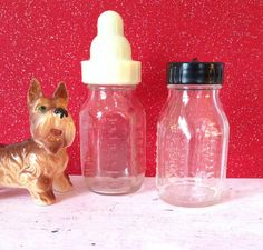 Lot Of 3 Vintage Glass Baby Nursing Feeding Bottle W/instructions Hygeia No 8 High Resilience Feeding Sets