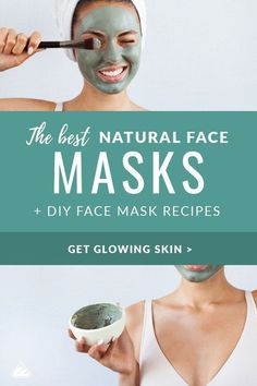 The Best Natural Face Masks & DIY Recipes Imagine lying on the couch in your fluffy robe or soaking in the tub with your face painted with a DIY moisturizing face mask & skin lovin' ingredients. Face Mask For Pores, At Home Face Mask, Face Skin, Acne Face, Best Natural Face Mask, Best Diy Face Mask, Natural Facial, Natural Oils, Natural Skin