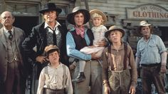 THE APPLE DUMPLING GANG ~ starring Bill BIxby & Susan Clark.  Also starring Harry Morgan, Slim Pickens, Tim Conway & Don Knotts
