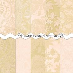 A beautiful and subtle shabby chic damask digital paper collection in gold and blush digital for creating wedding invites, scrapbook layouts, cards, stickers, journal papers and more. 12x12 inch and 8.5 x 11 inch, 300 dpi jpgs, Full coverage lace papers ready to use for creating table numbers, game boards, menus, invites. Follow the visit button to read all the details. The beauty of digital paper is that once purchased, they can be used over and over again for years to come.