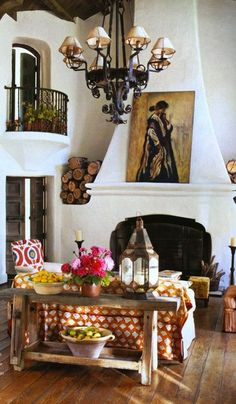 Defining Spanish & Mediterranean Style, floor/colors