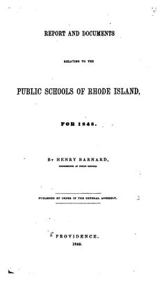 Volume 3 - Journal of the Rhode Island Institute of Instruction (1849)