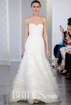 Brides: Oscar de la Renta Wedding Dresses - Spring 2017 - Bridal Fashion Week