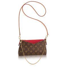 Discover Louis Vuitton Pallas Clutch via Louis Vuitton