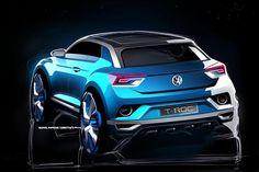 Volkswagen T-Roc, il SUV compatto del futuro, tetto a sezioni rimovibili e strumentazione digitale - Auto http://www.auto.it/2014/02/28/volkswagen-t-roc-il-suv-del-futuro-tetto-a-sezioni-rimovibili-e-strumentazione-digitale/19438/