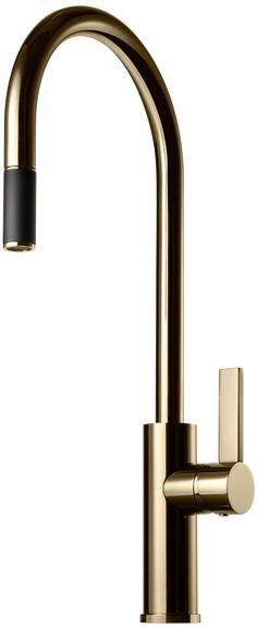 ARM185 Polished Brass Kitchen Taps, Stockholm Sweden, Polished Brass, Pop Up, Faucet, Sink, Wall Lights, Chrome, Lighting