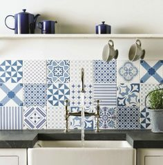 2019 brings with it a multitude of amazing new interior design trends. Here are the top 5 interior design trends for Interior Design Trends, Cement Tile Backsplash, Kitchen Tiles Design, Tiles, Patchwork Tiles, Tile Design, Patchwork Kitchen, Kitchen Tiles Backsplash, Traditional Kitchen Backsplash