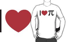 I Heart Pi | 17 Impossibly Awesome Tees To Celebrate National Pi Day