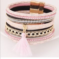 COMING SOON Pretty in pink bracelet Jewelry Bracelets