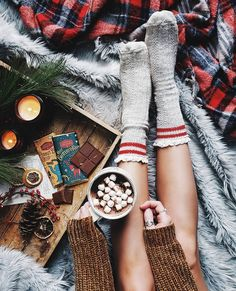 Cozy mornings with cocoa. ☕ You know what pairs best with hot chocolate? More chocolate! 🍫😋 For real the most amazing chocolate I've had… Storm Photography, Winter Photography, Hot Buttered Rum, Winter Storm, Christmas Cooking, Getting Cozy, Long Weekend, Sunday Morning, Winter Christmas