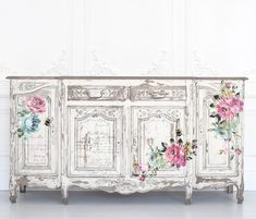 extraordinary-recommended-shabby-chic-furniture-dresser-read-more-chic-dresser-extraordi/ - The world's most private search engine Victorian Furniture, Old Furniture, Shabby Chic Furniture, Furniture Makeover, Painted Furniture, White Furniture, Furniture Ideas, Floral Furniture, Hutch Makeover