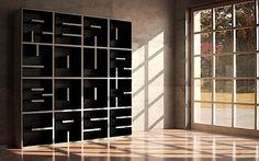 ABC – das Bücherregal aus Buchstaben-Modulen | KlonBlog