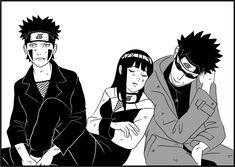 Team Kiba, Hinata, and Shino Naruto Uzumaki Shippuden, Naruto Kakashi, Hinata Hyuga, Team 8 Naruto, Naruto Shippuden Characters, Naruto Fan Art, Naruto Anime, Naruto Comic, Sarada Uchiha