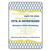 Nautical Mod Birthday Invitations | PaperStyle