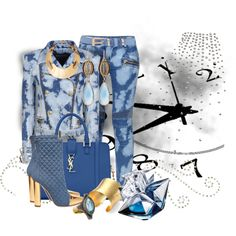 """Cloudy with a chance of reign."" by lacindasarco on Polyvore"