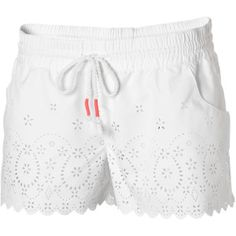 Lilly Pulitzer 5 Inch Buttercup Scallop Hem Short in Resort White ...