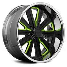 FOOSE® - ASCOT K.O. 3PC Bolted Custom Painted with Spinner Cap