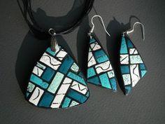 Mosaiques bleues