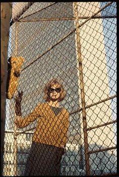 Jean Shrimpton (photographer David Bailey, New York 1962)