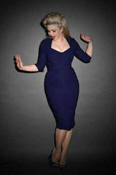 Gentlemen Prefer Blondes Lorelei blue dress - Deadly is the Female