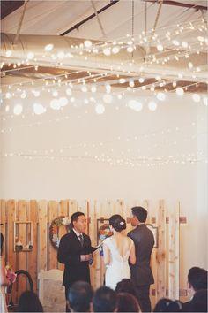 luzes de natal pra decoração de casamento