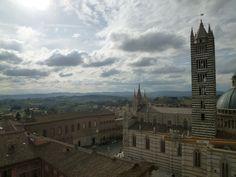 "Panorama,""Museo dell'Opere Metropolitana"", Siena Italia (Marzo)"
