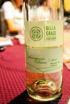 The 2015 Sauvignon Blanc is a cloud of peach blossoms. A purchase buys a spectacular nose and sparkly finish. http://thegourmez.com/2016/10/10/a-visit-to-bella-grace-vineyards/