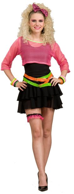 80s+Groupie+Adult+Costume from BuyCostumes.com