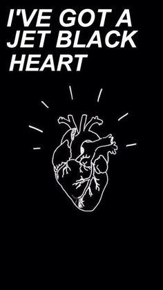 jet black heart // 5sos [via allcapslyrics on twitter] More