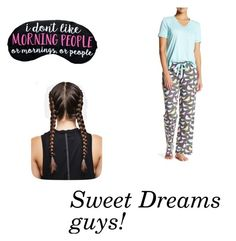 """Sweet Dreams, guys!"" by i-love-cake3 ❤ liked on Polyvore featuring P.J. Salvage"