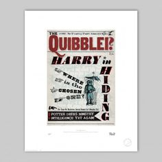 MinaLima - The Quibbler