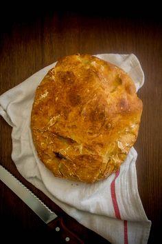 no-knead bread 4 No Knead Bread, Camembert Cheese, Pie, Desserts, Food, Torte, Tailgate Desserts, Cake, Deserts