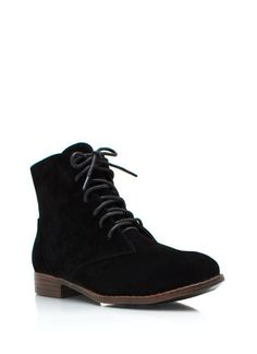 Faux Suede Dress Boots by GoJane