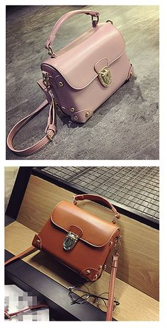 A must have casual shoulder bag to match any outfit - office look or casual daily wear. Find it in pearl pink/ brown/ black/ red colors at €22.53