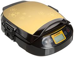 Liven LR-300HF Electric Griddle Foldaway Skillet with Removable Pan and Cover,Champagne 12-inch *** Continue with the details at the image link. #ElectricSkillets