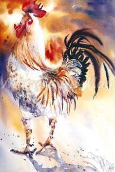 Maryse De May Watercolor
