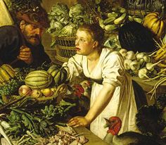 stilleven 17de eeuw groenten en fruitmarkt