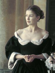 Rosamund Pike as Elizabeth Wilmot, Countess of Rochester inThe Libertine (2004).