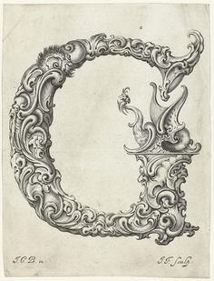Letter 'G' para laminas personalizadas