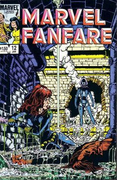 Marvel Fanfare n°12 (1983). Cover by George Pérez.