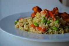Edamame & Quinoa Salad