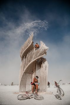 Tangential Dreams at Burning Man 2016 - Day Time Photography by Gurps Chawla. ©GurpsChawla ©Mamou-Mani