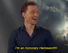 He's even an honorary part of the family! | 49 Reasons Tom Hiddleston Will Ruin You For Life